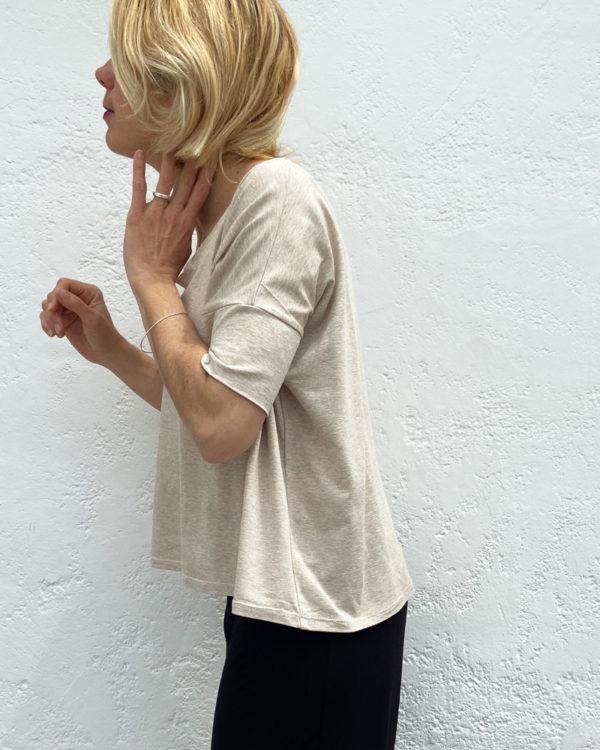 samarreta ample, coll rodó